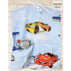 Autós kék ovis zsák  (310)