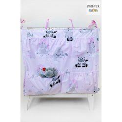 Afrikai álom,rózsaszín zsebes tároló (533/R)