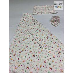 Bear maci pamut takaró szett+nyálkendő