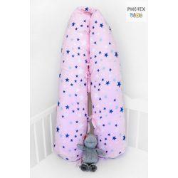 Rózsaszín csillagok, szoptatós, kismama párna (118/R)