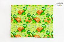 Zöld teknőcök gyermek-, ovis párna