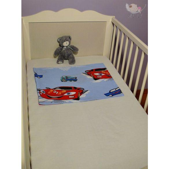 Autós kék gyermek-, ovis párna (310)