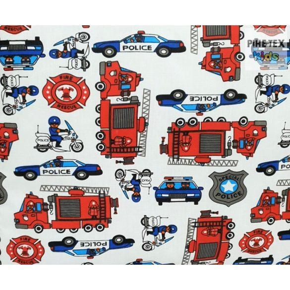 Tűzoltós gyermek-, ovis ágynemű (440)