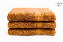 Világos barna frottír törölköző 70x130