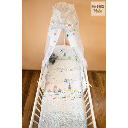 Pihe- Vízivilág 4 részes babaágynemű szett (P-499)
