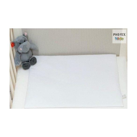 Hófehér színű gyermek-, ovis ágynemű (90)