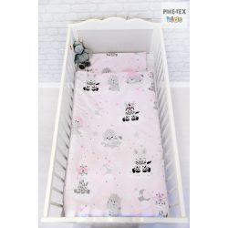 Afrikai Álom, rózsaszín  babaágynemű huzat (533/R)