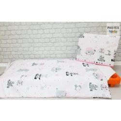 Afrikai álom, rózsaszín  gyermek-, ovis ágynemű huzat (533/R)