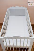 Habszivacs matrac  70x140-es méretben, fehér huzattal