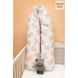 Pihe- Rózsaszín pizsamás mackók szoptatós párna, kismama párna  (P-512/R)