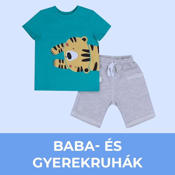Baba- és gyermekruhák