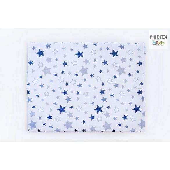 Nagy Csillagok,szürke,  3 részes babaágynemű garnitúra (118/F-Sz)