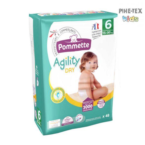 Pommette Agility Dry pelenka 6, 15 - 30 kg, 48db
