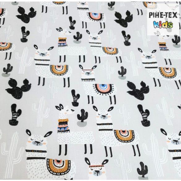 Sivatagi Láma, ovis ágynemű szett 90x140cm (535) (ovis huzat, 2 részes fehér)