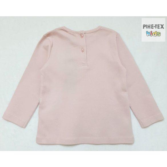 iDO lány, rózsaszín, hosszú ujjú felső (K304/00-2715)