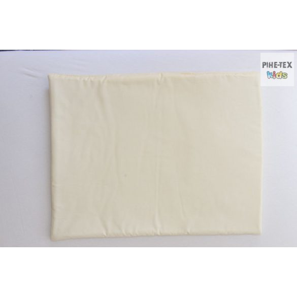 Vaníliaszín, hímzett nyuszis 4 részes babaágynemű szett (98)