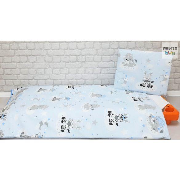 Kék, Afrikai álom  gyermek-, ovis ágynemű huzat (533/K)