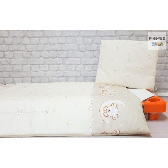 Holdon Ülő Macik, bézs gyermek-, ovis ágynemű (562/B)