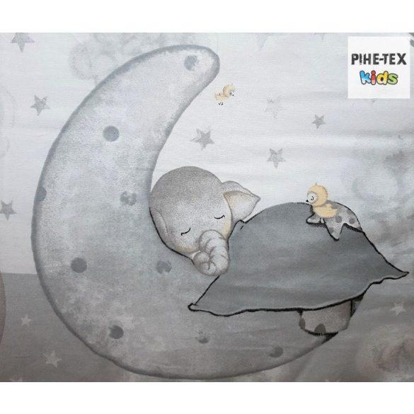 Bébi elefánt szürke, gyermek-, ovis ágynemű huzat (582/Sz)