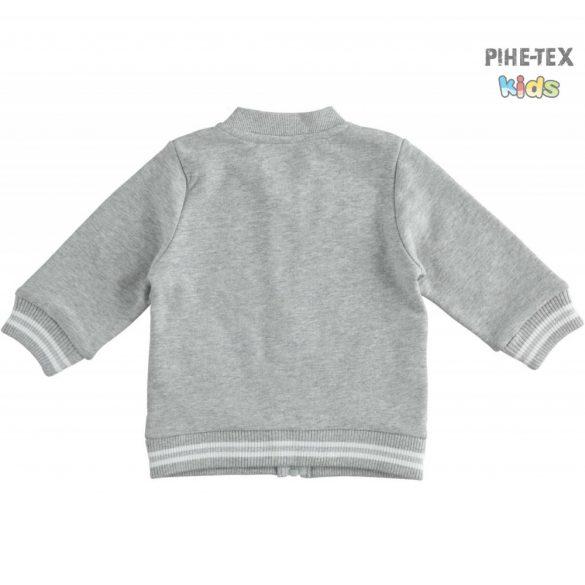 iDO lány, szürke, pulóver, megfordítható flitteres mintával (K615/00-8992)