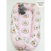 Rózsa Kutyuskák babafészek (515/R)