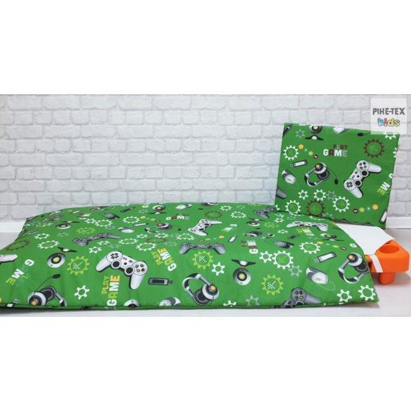 Gamer zöld gyermek, -ovis ágynemű (597)