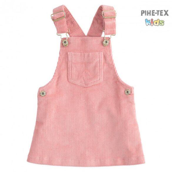 iDO lány, rózsaszín, kantáros, kordbársony szoknya (K656/00-2525)