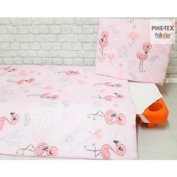 Flamingó, rózsa- ovis,ágynemű huzat 90x140cm (571/R)