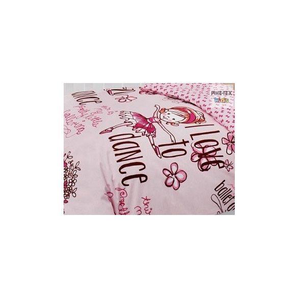 Dance rózsa ovis,ágynemű huzat 90x135 cm