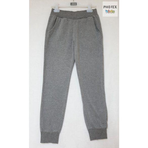 iDO fiú, 2 részes szett, fekete-szürke, melegítő nadrággal (K820/00-8317)
