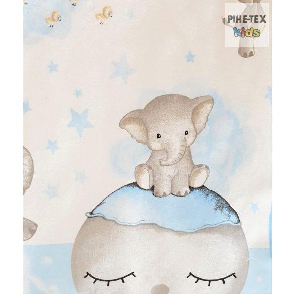 Bébi elefánt kék, babaágynemű huzat (582/K)