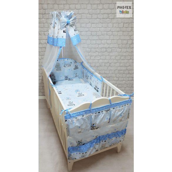Afrikai Álom, kék 5 részes babágynemű szett (533/K) (4 részes, zsebes tároló)