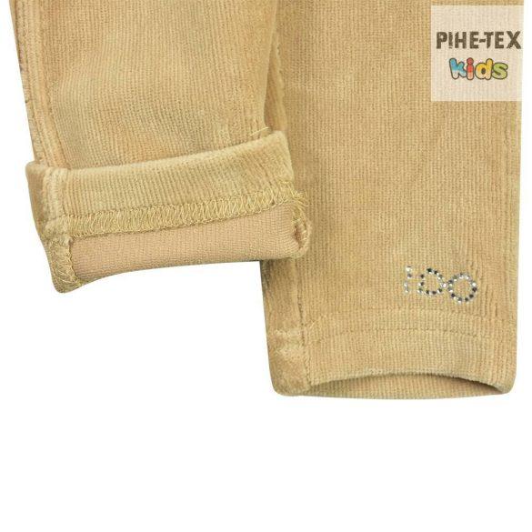 iDO lány, bézs, kordbársony hatású leggings (K645/00-0734)