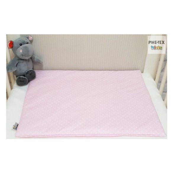 Cuki Állatok, Rózsa -  2 Részes mintás babaágynemű szett (576/R)