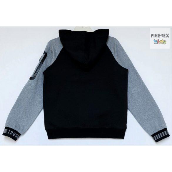 iDO fiú, fekete-szürke pulóver (K744/00-0658)