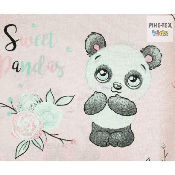 Sweet Panda,-ovis,ágynemű huzat 90x140 cm (579/R)