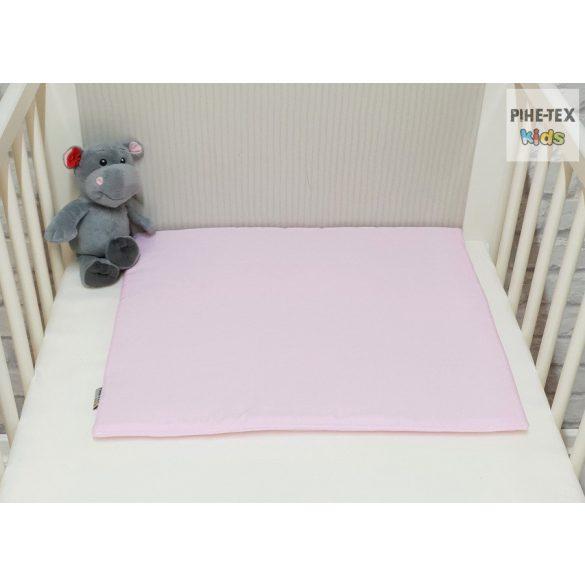 Rózsaszín, függős macik 3 részes babaágynemű szett (99)