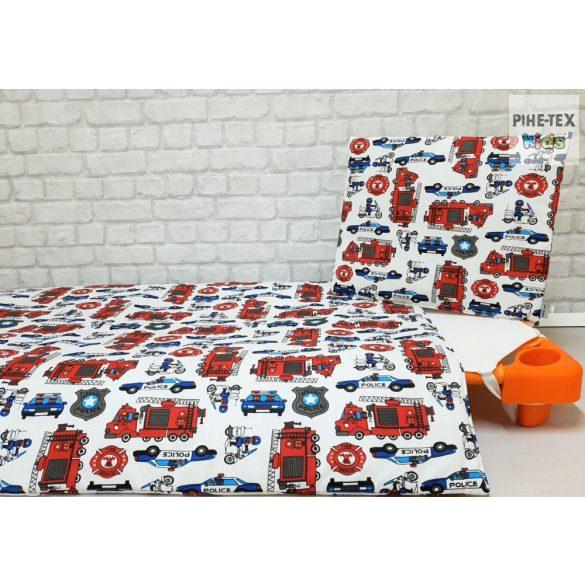 Tűzoltós gyermek, -ovis ágynemű huzat (440)