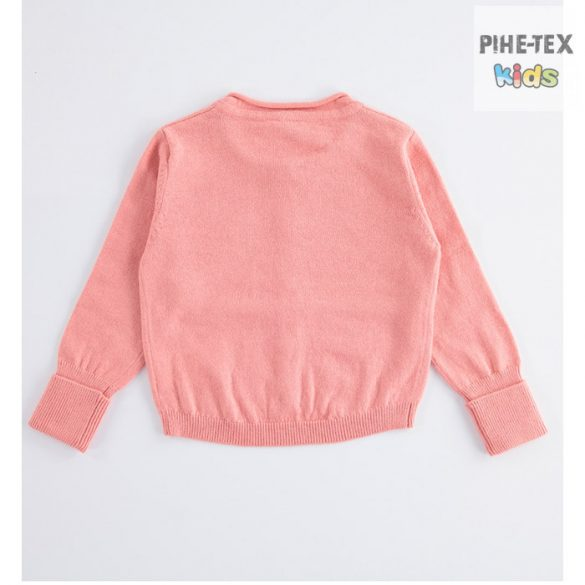 iDO lány, rózsaszín, kardigán, flitteres mintával (K623/00-2525)