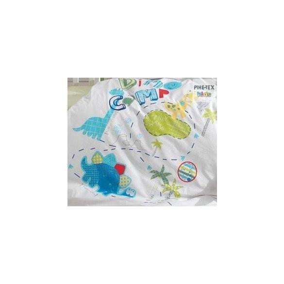 Dino Camp kék ovis,ágynemű huzat 90x135 cm
