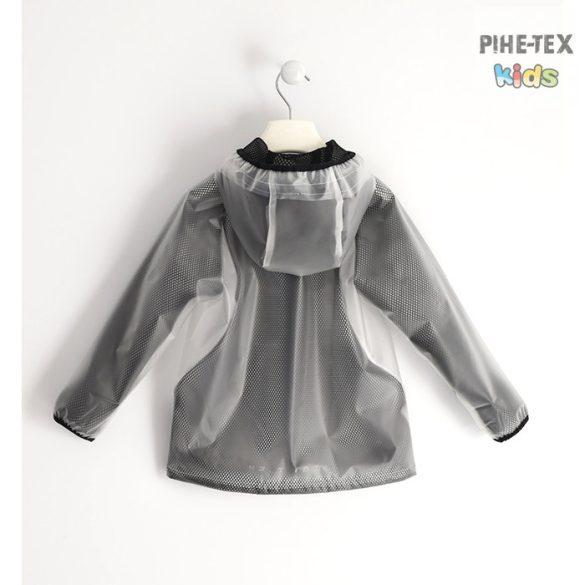 iDO fiú, szürke, víz lepergetős, kapucnis kabát (J468/00-5900)