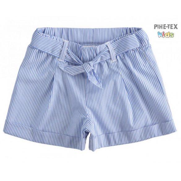 iDO lány, kék csíkos rövidnadrág (J776/00-3616)
