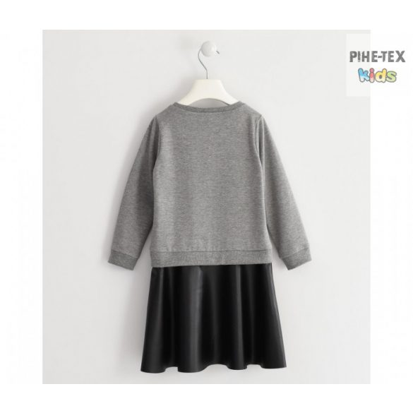 iDO lány, szürke-fekete ruha, Rock felirattal (K968/00-8970)