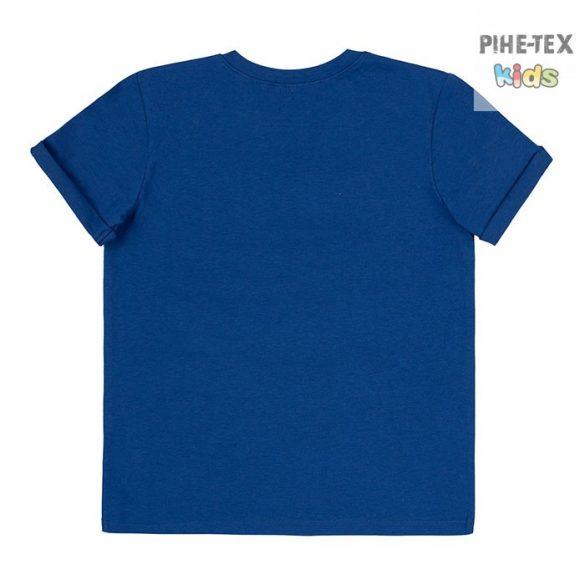 Bembi sötétkék, fiú póló, pálmafa mintával, Los Angeles felirattal  (FB695)