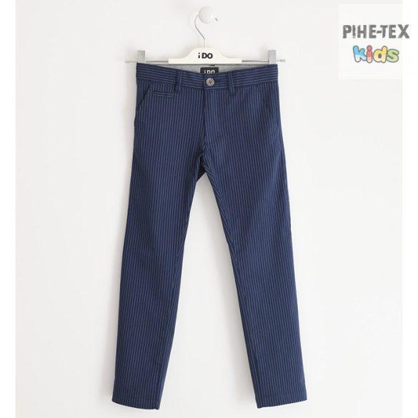 iDO fiú, sötétkék-csíkos nadrág (J420/00-3854)