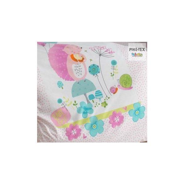 Hello Baby sünilány, ovis ágynemű szett 90x135cm (ovis huzat, 2 részes fehér)
