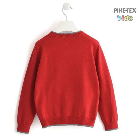 iDO fiú, piros, kötött pulóver (K798/00-2253)