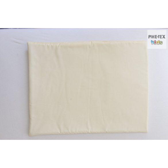 Vaníliaszín, hímzett I love baby felirattal, szivecskékkel 4 részes babaágynemű szett (98)