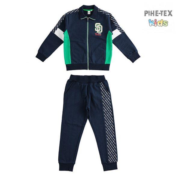 iDO 2 részes zöld-fekete, fiú szett, nadrággal (J477/00-8028)