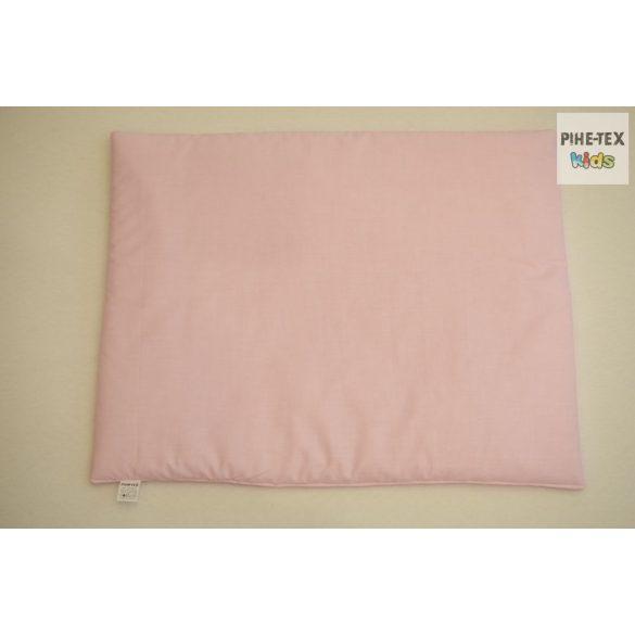 Rózsaszín, hímzett fekvős maci 3 részes babaágynemű szett (99)